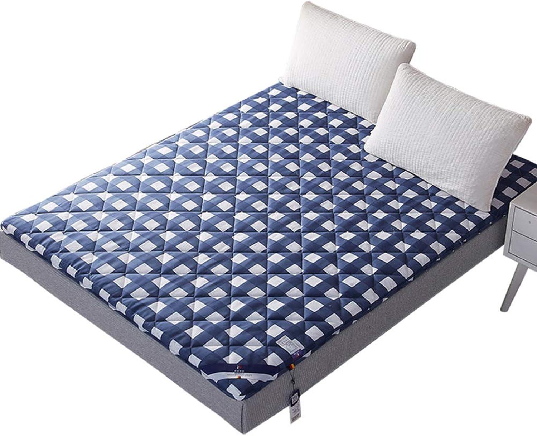 Keep Warm Folding Tatami Mattress, Thickened Wool Mattress Topper Student Ground Floor Sleeping pad-A 90x200cm(35x79inch)