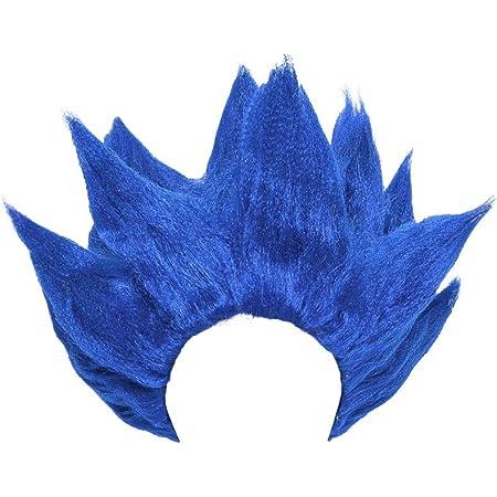 Miccostumes Peluca Para Disfraz De Hombre De Goku Dragon Ball Talla única Azul Beauty