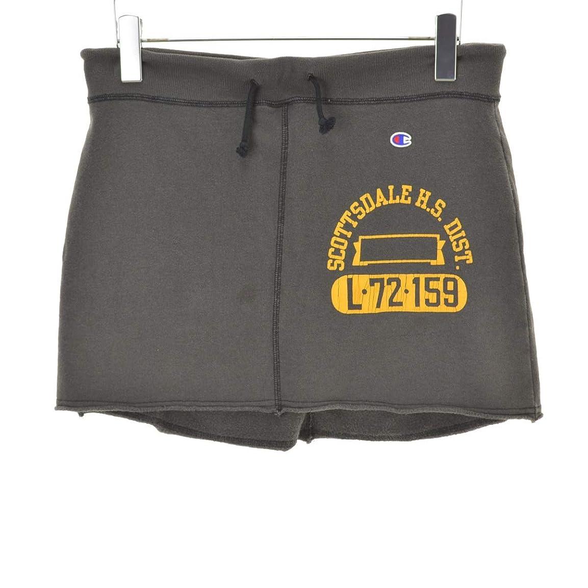 そっと国際他の場所(チャンピオン) CHAMPION カレッジプリントスウェットミニ スカート