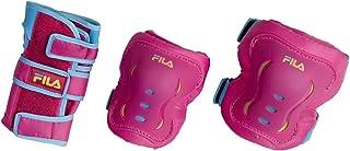 Kit de Proteção Infantil Fila Skates Bella Pink