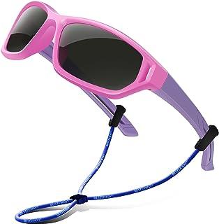 SEEKWAY Polarized Kids Sunglasses For Boys Girls Child...