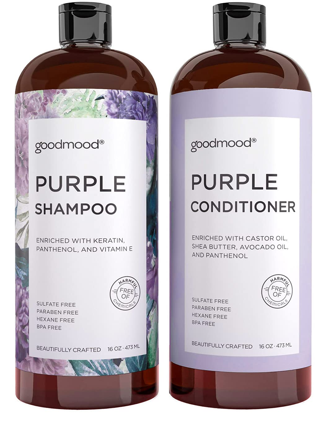 GoodMood Purple Shampoo Luxury goods and Conditioner Gray Set Blonde Pl For Indefinitely