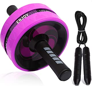 Sky Ab Roller for Full Body Workout-Ab Wheel Exercise Roller Suitable for Beginners to Advanced-Ab Equipment Roller for Men and Women-Ab Roller Pro and Original Trainer Great for Using at Home