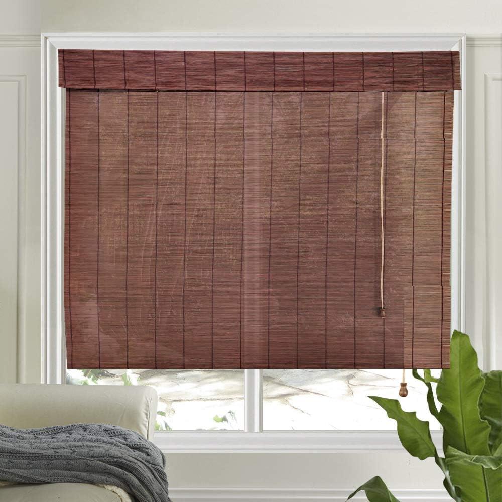 LETAU Wood Window Shades Max 88% OFF Sale R Blinds LightFilteringCustom Bamboo