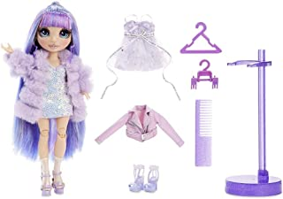 Rainbow Surprise Rainbow High Violet Willow - Purple Clothes Fashion Doll with 2 Complete Mix & Match Outfits and Accessor...
