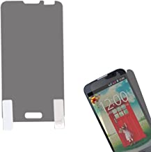 MyBat Anti-Grease LCD Screen Protector for LG VS450PP (Optimus Exceed 2)/MS323 (Optimus L70) - Retail Packaging - Clear