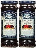 St. Dalfour Four Fruits Conserves, 10 oz, 2...