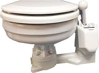 Raritan Fresh Head - Fresh Water Flush - Manual - Marine Size - Right Hand Operation (54063)