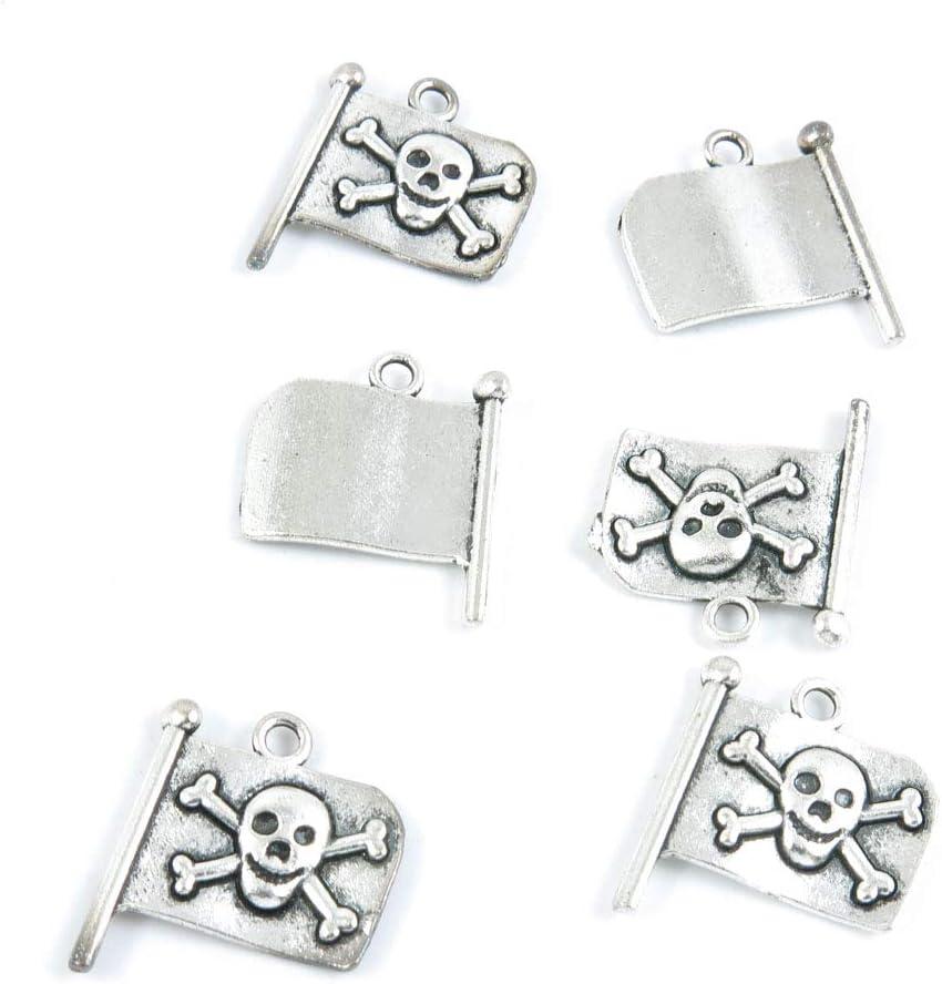 早割クーポン 1120 Pieces Antique 受賞店 Silver Tone Charms Crafting Jewelry Making B