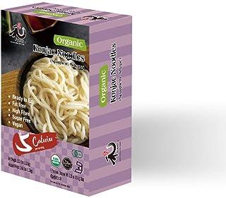 YUHO Organic Shirataki Konjac Pasta 8 Pack Inside, Vegan, Low Calorie Food, Gluten Free, Fat Free, Keto Friendly, Zero Car...