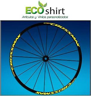 "Ecoshirt EQ-7F31-IHCX Pegatinas Stickers Llanta Rim Mavic Crossmax SL Pro Am50 MTB Downhill, Amarillo 29"""