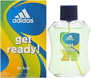 Adidas Get Ready! by Coty for Men 3.4 oz Eau de Toilette Spray