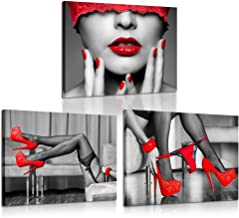 Pors Girl High Heels Drive Poster Print 24x36 Inches Wall Art Classic  Vintage