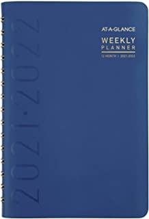 "$22 » Academic Planner 2021-2022, AT-A-GLANCE Weekly & Monthly Book Planner, 5"" x 8"", Small, for School, Teacher, Student, Conte..."