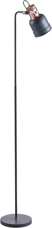 Versanora VN-L00040 Lattine Monopod Floor Lamps, Grey pink gold