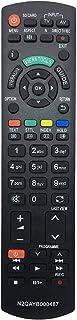 ALLIMITY N2QAYB000487 Afstandsbediening Vervangen voor Panasonic TX-P37X20B TX-P37X20E TX-P37X20E TX-P37X20L TX-P37X25E T...