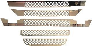 cornici esterne mascherina TRUCKDANET Accessori in acciaio INOX per camion Stralis HiWay