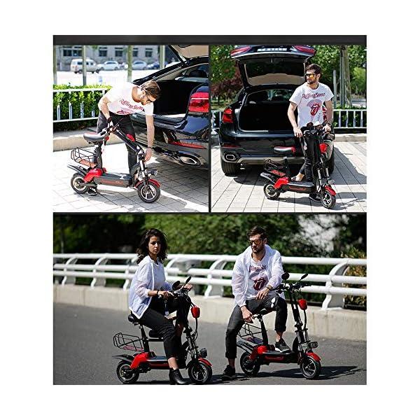 61DeRFTBdqL. SS600  - E-Bike City Klapprad 37km/h - E-Faltrad Nabenmotor 580W, 48V 20AH, Elektro Faltrad für Damen und Herren, Reichweite: 100 km, Tragfähigkeit 140Kg