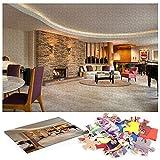 Beverly Hills Hotel Puzzle 1000 Piezas Arte Un Regalo de un Equipo de Juego Familiar a un Amante o Amigo.