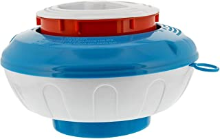 U.S. Pool Supply Floating Pool Chlorine and Bromine Chemical Dispenser with Pop-Up Refill Indicator - Holds 3