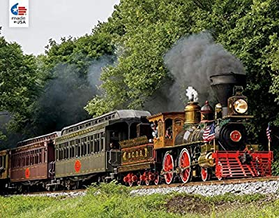 All Aboard Forest Train Ride Puzzle - 750Piece from Ceaco