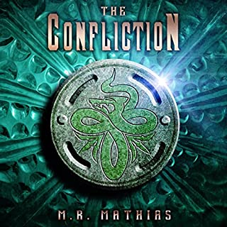 The Confliction audiobook cover art
