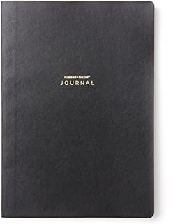 russell+hazel Black Vegan Leather A5 Journal