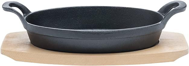 Tabletops Basic Essentials Pre Seasoned Cast Iron Cookware, 2 Piece 9