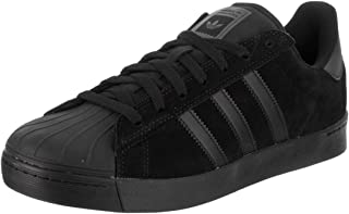 adidas Skateboarding Unisex Superstar Vulc Core Black/Core Black/Core Black Athletic Shoe