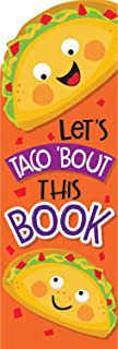 EUREKA Scratch-and-Sniff Taco School, 24pc Bookmarks - Scented, 24 Piece