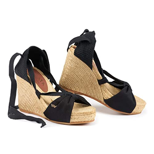8d3db5fd3fe VISCATA Handmade in Spain Tamariu 3.75-inch Wedge with 1-inch Platform. Soft