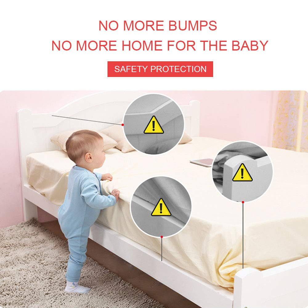 Edge Safety Corner Guards,Table Proofing Foam for Baby Safety, 16 ft Edge with 8 pcs Corner Cushions