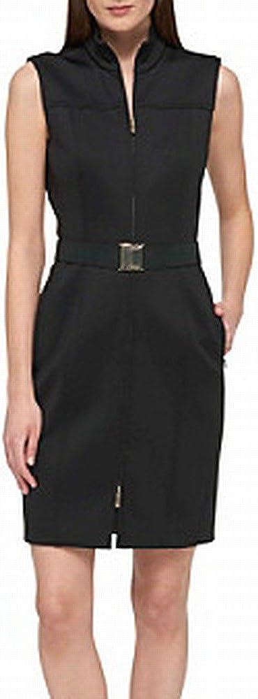Tommy Hilfiger Women's Classic Scuba Zip Up Dress