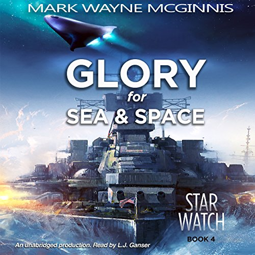 Glory for Sea and Space audiobook cover art