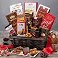 Gourmet Foods Valentine's Day Gift Baskets Love Candy Chocolate