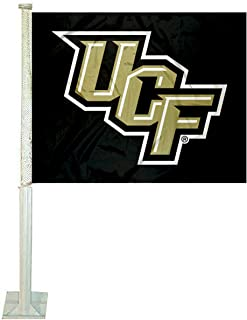 College Flags & Banners Co. Central Florida Knights Stacked UCF Car Flag