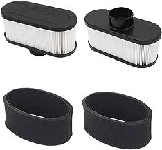 Yiizy FS691V Air Filter for Kawasaki 99999-0384 11013-0752 FR651V FR691V FR730V FS481V FS541V FS600V FS651V FS730V 2PCS, FS691V Air Filter