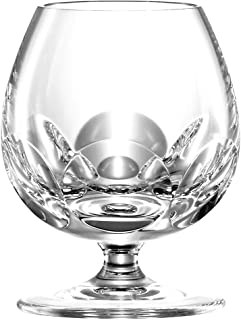 ARNSTADT KRISTALL Cognacglas Palais hell 10,6 cm Kristallglas mundgeblasen  handgeschliffen  Handmade in Germany  Direkt vom Hersteller