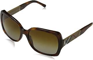 Burberry 4160 3316T5 Tortoise 4160 Square Sunglasses Polarised Lens Category 2
