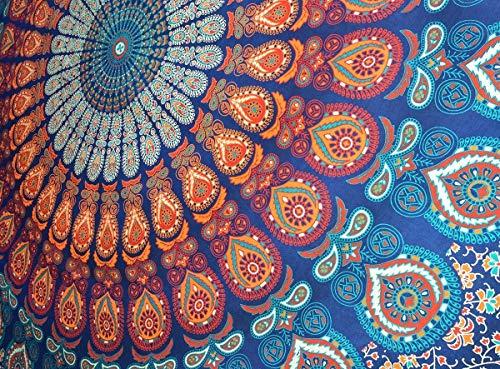 Craftozone Mehrfarbiger Mandala-Wandteppich...