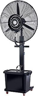Jyfsa Mudo Grande Ventilador eléctrico Ventilador de fábrica Ventilador Ventilador de Aire frío Ventilador Industrial Ventilador de Niebla de vibración con Rueda y Tanque de Agua
