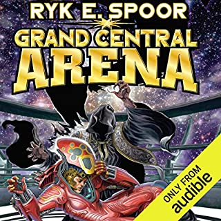 Grand Central Arena audiobook cover art