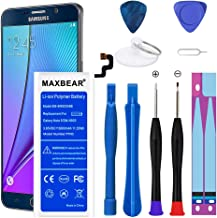 Galaxy Note 5 Battery,MAXBEAR 3000mAh Li-Polymer Built-in Battery EB-BN920ABE Replacement for Samsung Galaxy Note 5 SM-N920 N920T N920A N920P N920V with Free Tool.
