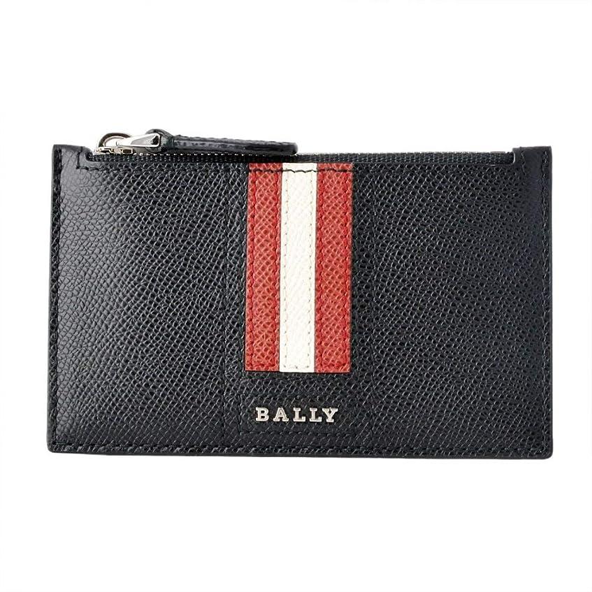 無視する理想的マダム[バリー] BALLY TENLEY.LT 10 6221811 バリーストライプ 小銭入れ付 カードケース [並行輸入品]