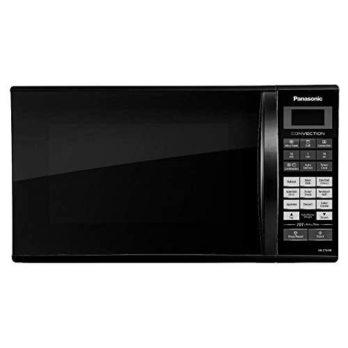 Panasonic 27L Convection Microwave Oven(NN-CT645BFDG,Black, Magic Grill) with Starter Kit