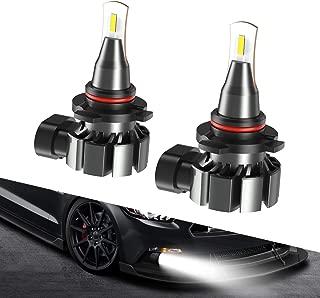 9145 9140 H10 LED Fog Light Bulb, SEALIGHT CANBUS LED Lights, 5800lm 6000K Xenon White Super Bright, Halogen Fog Light Bulb Replacement for Cars Trucks Vans, Pack of 2