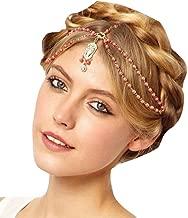 Missgace Women Fashion Metal Head Chain Jewelry Headband Head Piece Hair Band