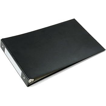 """SKILCRAFT 3-Ring Binder Legal Black for 8.5 x 14"""" Paper"""