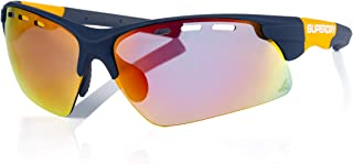Superdry Unisex Sunglasses - Rubberised navy/Blue red mirror - SDSPRINT-106 - size 62-15-121