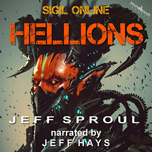 Hellions audiobook cover art